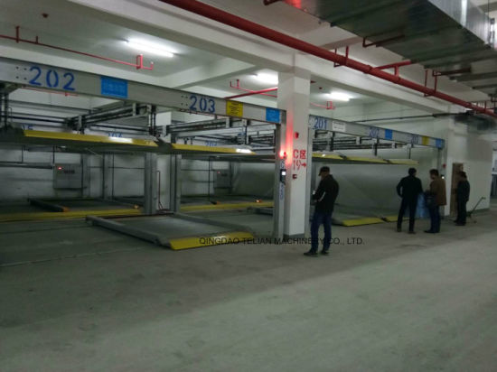 Automatic 2 Level Puzzle Car Parking Lift System Price