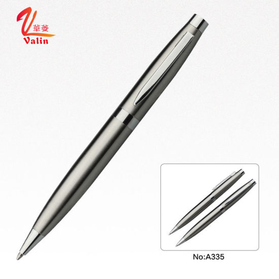 Fashion Silver Promotional High End Gift Ball Pen pictures & photos