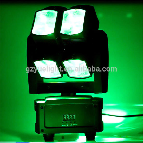 LED Hot Wheel 8*10W 4 in 1 RGBW Moving Head DMX DJ Disco Light pictures & photos