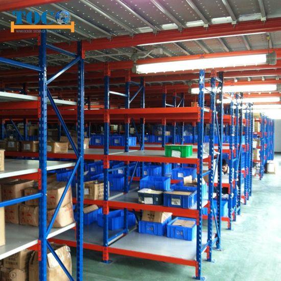Customized Storage Mezznaine Racking Multi Levels for Documents
