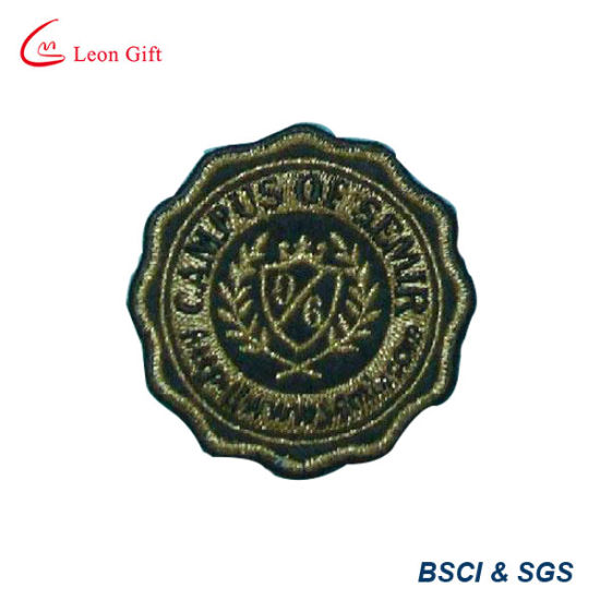 Factory Custom Embroidery Label Badge Patch pictures & photos