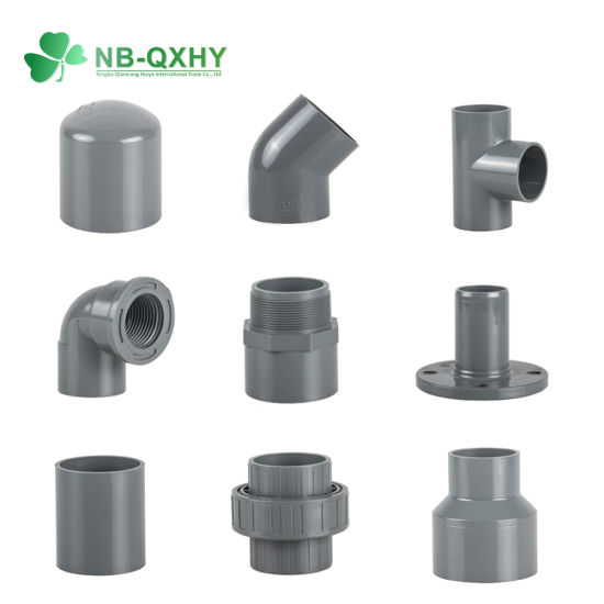 2018 DIN Standard PVC Fittings for Water Supply and Irrigation Use! pictures & photos
