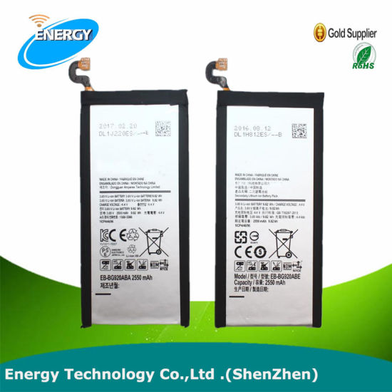 for Samsung Battery New 2600mAh Internal Rechargeable Battery for Samsung S6 Edge Plus G928