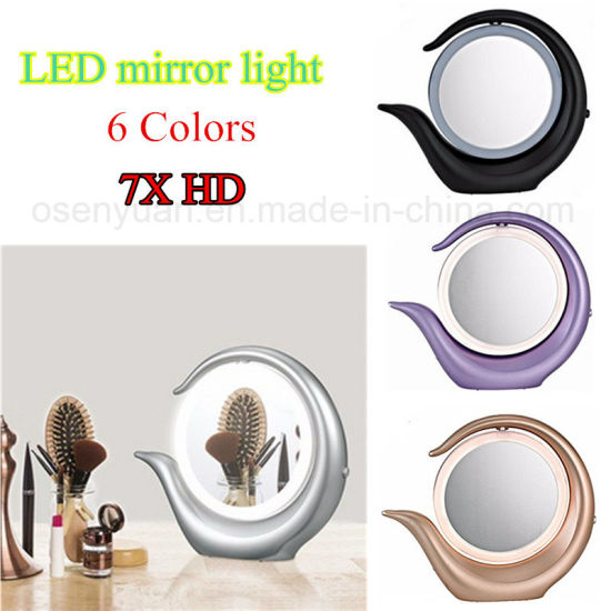LED Table Light with Mirro for Makeup pictures & photos