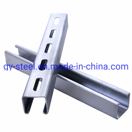 China Supplier Hot Dipped Galvanized Carbon Steel C Channel