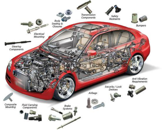China Internal Automotive Fastener Non Standard Fastener for Auto ...