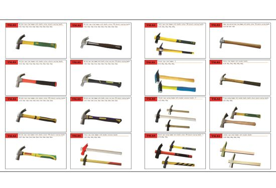 Hammer Japan Type Claw Hammer with Plastic Coating Handle pictures & photos