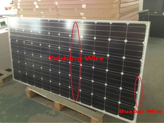 156 X156 mm Monocrystalline Mono Solar Cell for DIY PV Solar Panel pictures & photos