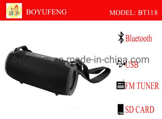 Factory Wholesale Mini Wireless Waterproof Bluetooth Speaker (BT118)