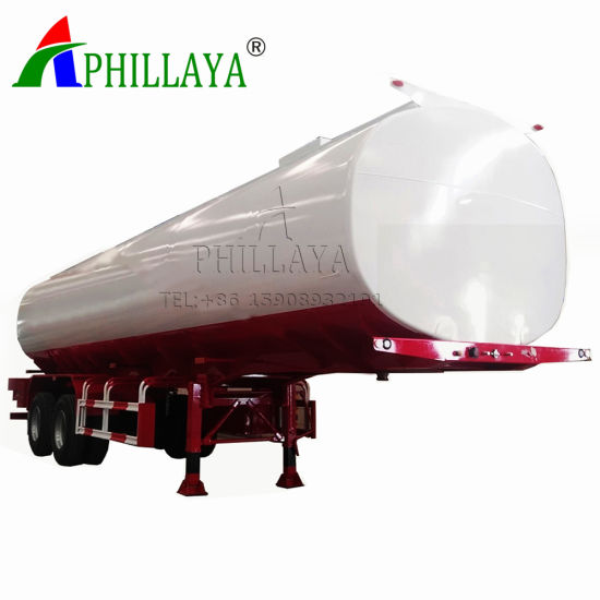 Four Axles Front Axle Lift Fuel Tank Trailer