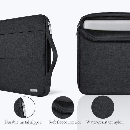 Surface Laptop Macbook Pro Slim Bag 13-13.5 Inch Sleeve Case Dark Gray