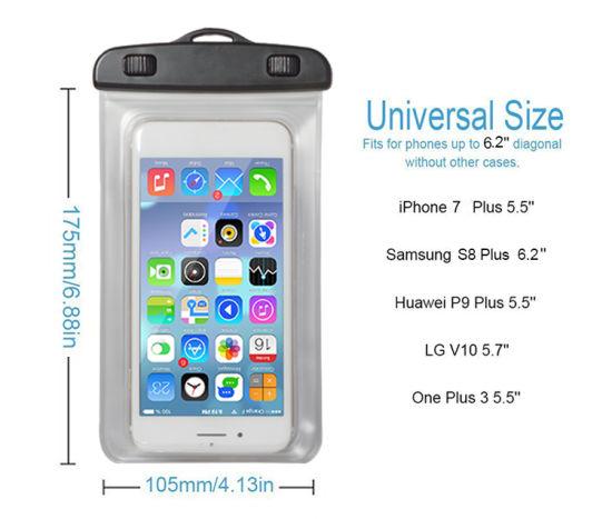 half off 8ecdb ffb93 Luminous Ipx8 Sealed Waterproof Phone Case for Samsung Galaxy S8 J7 J5 J3  J2 J1