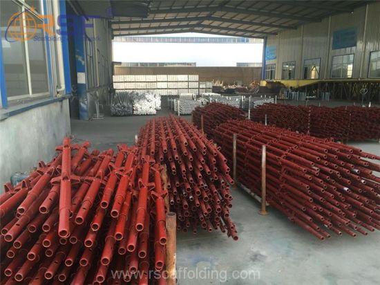 AS/NZS1576 Standard Galvanized Kwikstage Steel Scaffolding