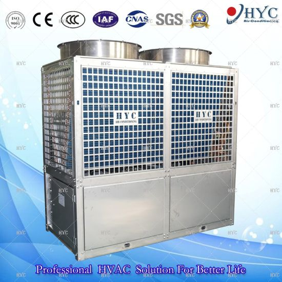 SS304 Industrial Modular Air to Water Air Source Heat Pump