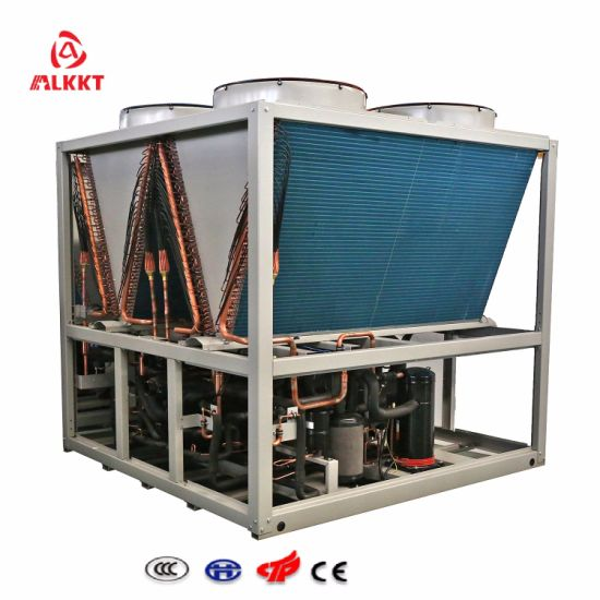Alkkt/Swimming Pool Low Ambient Temperature Modular Air Cooled Scroll Water Heater/Central Air Conditioner