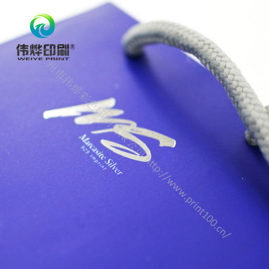 Luxurious Paper Printing Bag Good Quality and Pantone Color Acceptable pictures & photos