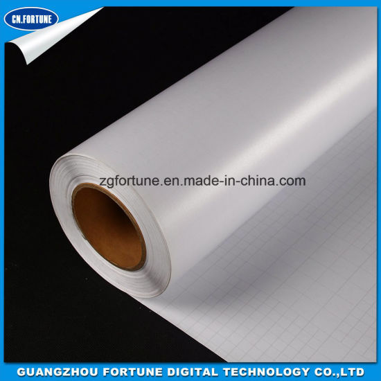 Professional Supplier Matte White Backing Paper Cold Lamination Transparent PVC Film