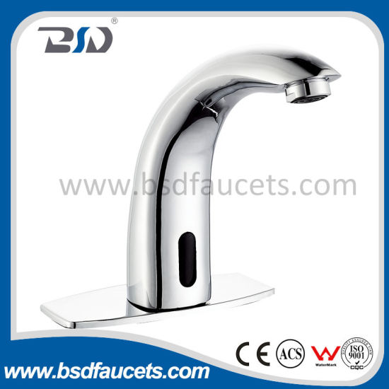Hands Free Infrared Automatic Sensor Faucet for Hot Cold Water pictures & photos