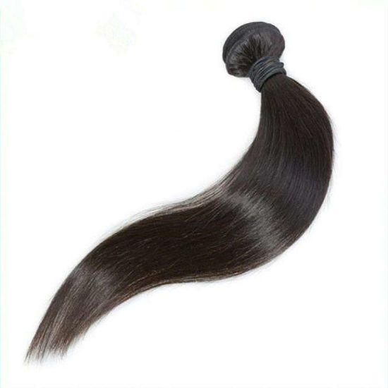"""8"""" Short Human Hair Extensions 100% Real Human Hair Weaves Natural Black Color Straight No Shedding No Tangle Good Quality Factory Wholesale Price"""