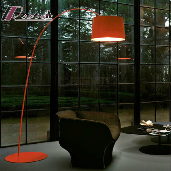 China E27 Colorful Steel Fish Floor Lamp for Hotel Project - China ...
