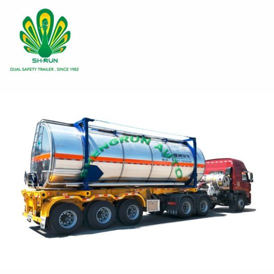China Manufacturer20 FT Asphalt Tanker Container for Hot Sale