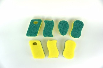 Cheap Price Wholesale Kitchen Cleaning Green Nylon Scrubbing Pad pictures & photos