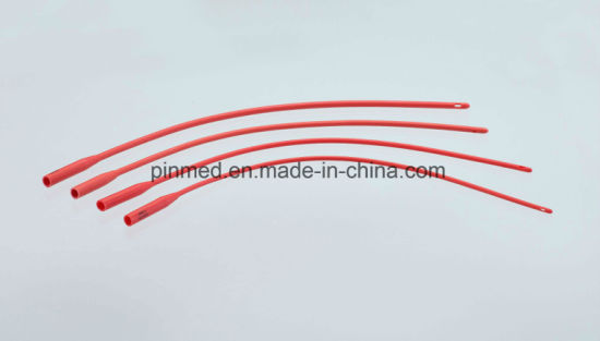 Pinmed Urethral Catheter (Red Latex) pictures & photos