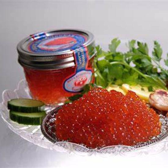 Popular Sale Glass Caviar Jar with Metal Cap