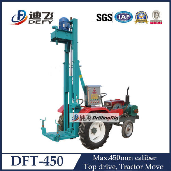 Tractor Mounted Water Well Drilling Machine for Sale