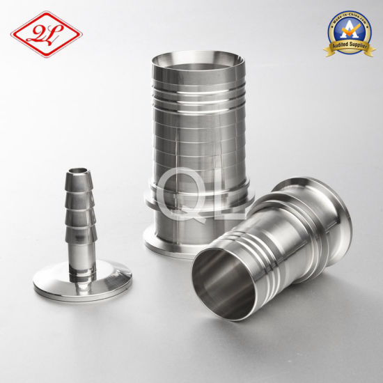 304/316 Sanitary Stainess Steel Long Hose Coupling Hose Nipple pictures & photos