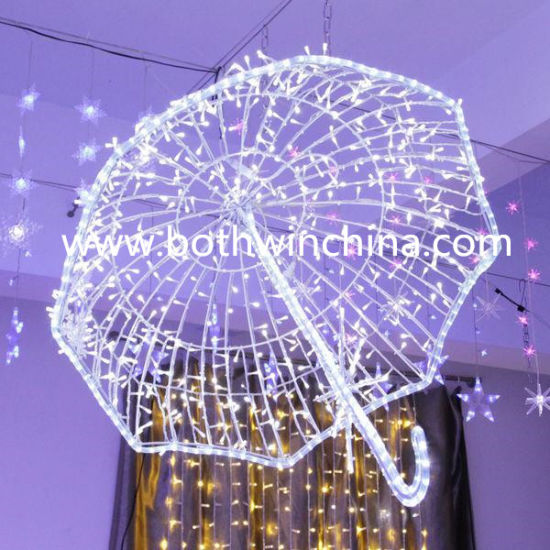 3D LED Light Umbrella Wedding Decoration pictures & photos