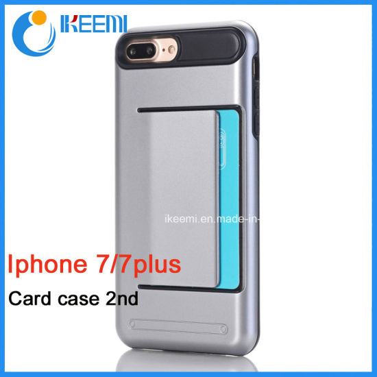 China Wholesale Back Phone Case with Card Slots