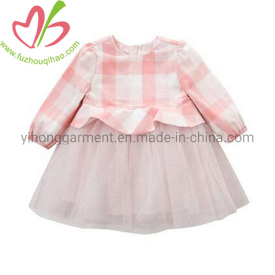 New Style Winter Lace Baby Girl Party Wedding Dress