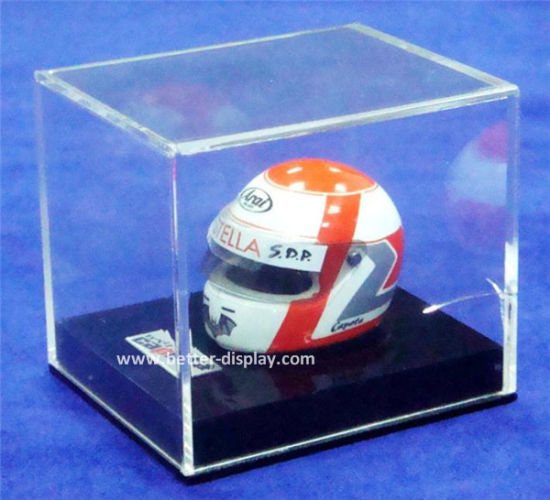 Clear Acrylic Display Box for Motorcycle Hat (BTR-Y3019)