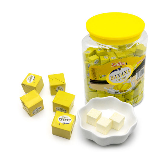 Jar Packing Milk Cube Candy