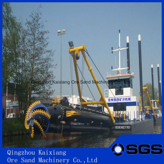 Customerized 4000m3/H Full Hydraulic 18 Inch Cutter Suction Sea Sand Dredger pictures & photos