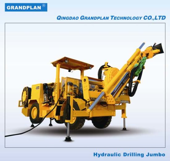 Hydraulic Drilling Jumbo for Underground Blasting Hole pictures & photos