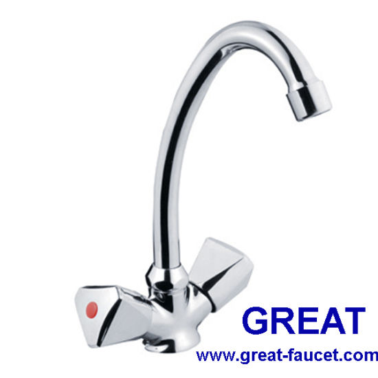 China Two Handle Kitchen Sink Mixer - China Faucet, Tap