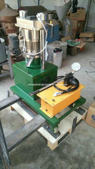 Hand Manual Hydraulic Making Cold Mini Oil Press Expeller Price pictures & photos
