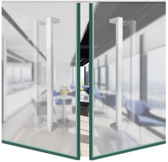 China Door Handle for Frameless Glass Door Commercial Glass Door ...