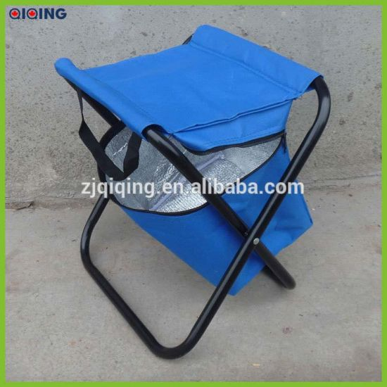 Outstanding Portable Folding Fishing Stool With Cooler Bag Hq 6007J 2 Pdpeps Interior Chair Design Pdpepsorg