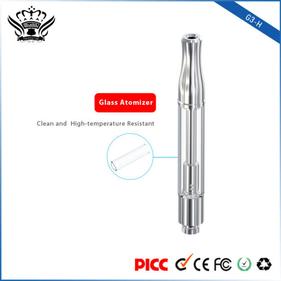 Audited and Gold Supplier Ceramic Heating Coil Glass Atomizer for Vape Pen pictures & photos