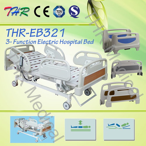 3-Function Electric Medical Bed (THR-EB321) pictures & photos