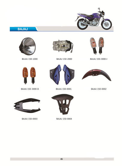 Motorcycle Plastic Body Parts (BB-103) pictures & photos