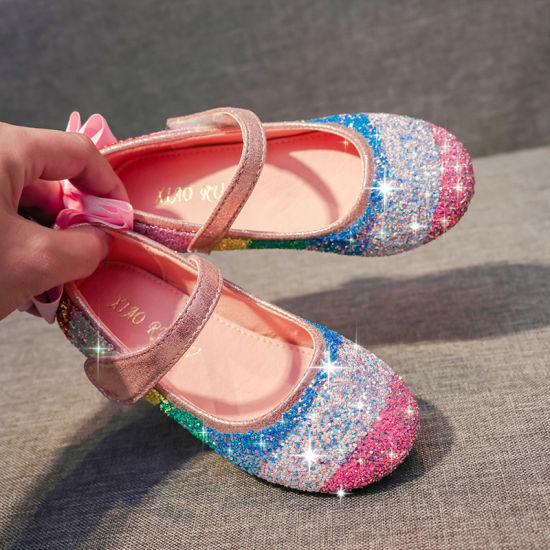 Comfy Girl Princess Shoes Children Girl Fashion Shoes Youth Party Dance Shoes