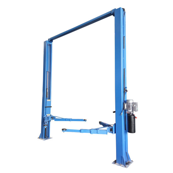 8 fold profile manual release hydraulic 2 post car lift pictures & photos