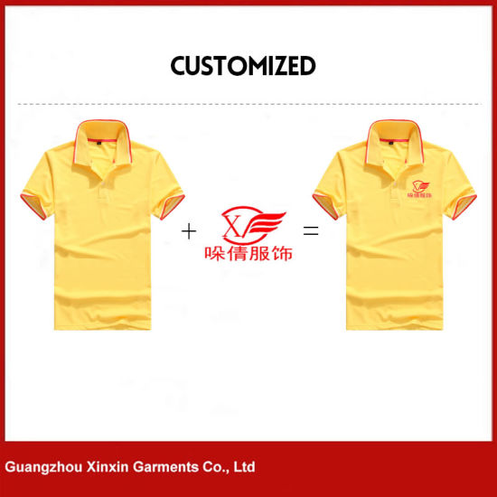 89b4ffec Custom Design Your Own Polo Tee Shirts with Printing Embroidery Logo for  Promotion (P118)