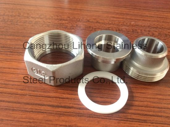 Stainless Steel NPT Unions Flat Bw/Bw pictures & photos