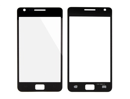 Cristal Touch S2 I9100 Outer Glass 9100 Front Lens for Galaxy
