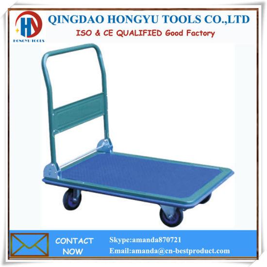 Folding Platform Hand Trolley/Tool Cart